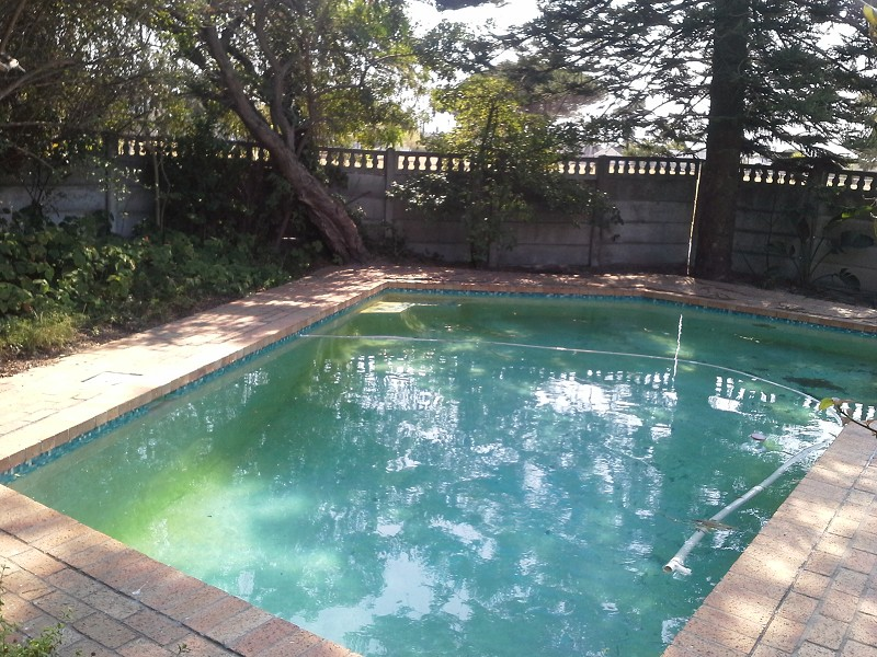 Enclosed Garden Original Gunite Pool In Good Condition Paved All Round House Comprises Of Living